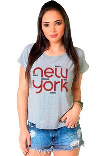 Camiseta Shop225 New York Mescla