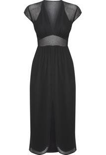 Vestido Marcela - Preto