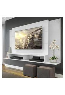 Painel Tókio Multimóveis Para Tv De Até 60 Polegadas Com Nicho - Branco
