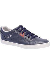 Sapatênis Style Shoes Cano Baixo Masculino - Masculino-Azul