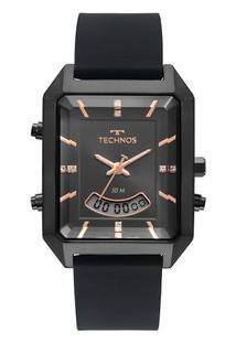 Relógio Technos Feminino Digital Preto T200Ai/2P T200Ai/2P