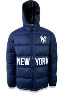 Jaqueta New Era Puffer New York Yankees Marinho