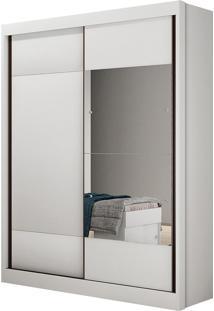 Guarda Roupa Novo Horizonte Falco C/Espelho 2 Portas Branco