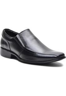 Sapato Social Lsb Shoes Almofadado Masculino - Masculino-Preto