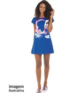 Camisola Adulto Azul Royal - Bela Notte - M