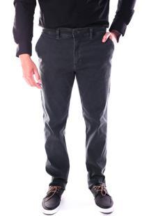 Calça 3011 Sarja Tabaco Traymon Modelagem Regular