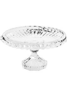 Prato Para Bolo Cristal Renaissance- Cristal- 10,5Xã˜Lyor