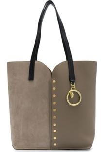 See By Chloé Gaia Carry-All Tote - Cinza