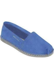 Alpargata Beeton Kigo Feminino - Feminino-Azul