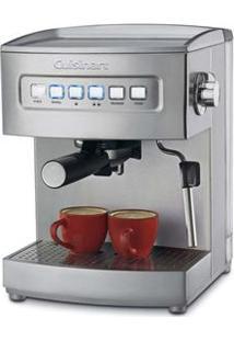 Cafeteira Expresso 15 Bar Cuisinart Em200 15 Bar - Vapor Para Cappuccino E Café Com Leite 110V – Inox