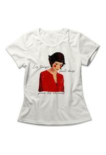 Camiseta Feminina Amélie Poulain Off-White