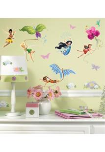 Adesivo Decorativo Roommates - Fadas Disney Roommates - Branco - Menina - Dafiti