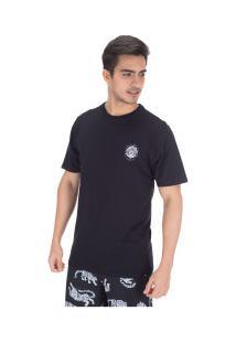 Camiseta Hurley Silk Bagus - Masculina - Preto