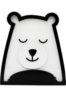 Luminária De Mesa Urso Polar