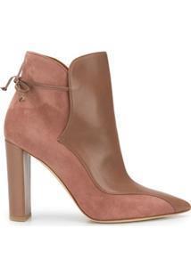 Malone Souliers Pointed Ankle Boots - Marrom