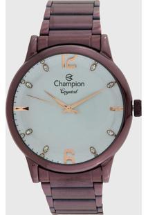 Relógio Champion Cn25529L Roxo
