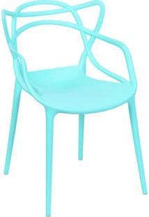 Cadeira Solna- Verde Água- 83,5X54X43Cm- Or Desior Design