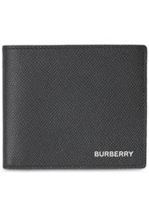 Burberry Carteira Com Logo - Preto