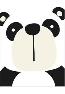Quadro Telado Panda 40X30Cm