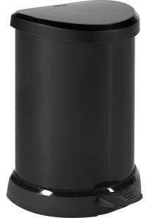 Lixeira 20L Metálica Curver Metal Foil-Keter - Prata