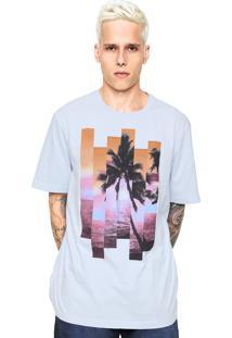 Camiseta Perry Ellis Palmeira Azul