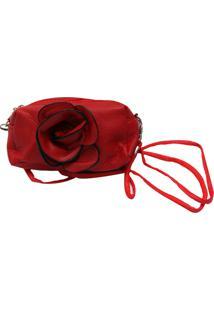 Bolsa Smm Acessorios Rosa Vermelha