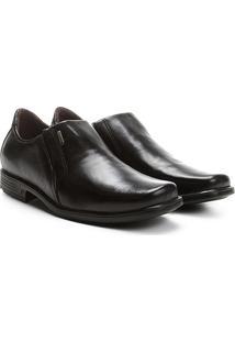 Sapato Social Couro Pegada Bico Quadrado - Masculino