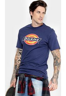 Camiseta Dickies Básica Logo Tradition Masculina - Masculino
