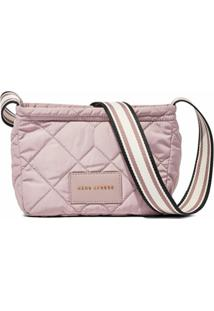 Marc Jacobs Bolsa Transversal The Quilted Nylon - Rosa