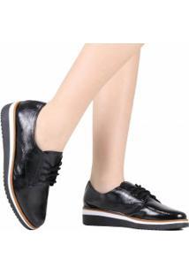 Sapato Zariff Oxford Verniz