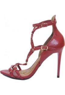 Sandália Andatti Inspired Valentino Vermelha