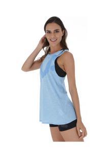 Camiseta Regata Fila Honey Ii - Feminina - Azul Claro
