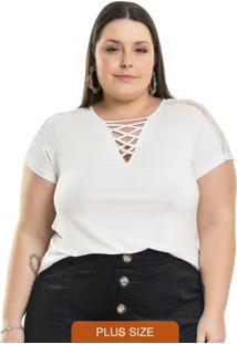 Blusa Strappy Branco
