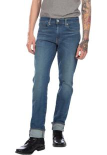 Calça Jeans Levis Man 511 Slim Performance Stretch Média - Masculino-Azul