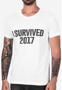 Camiseta I Survived 2017 102495