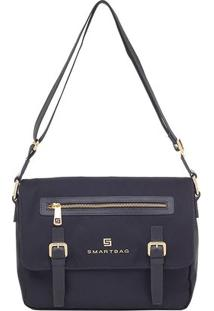 Bolsa Smart Bag Transversal - Feminino-Preto