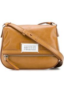 Maison Margiela 5Ac Logo-Patch Shoulder Bag - Marrom