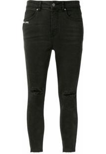 Izzue Calça Jeans Skinny Form Of Love - Preto