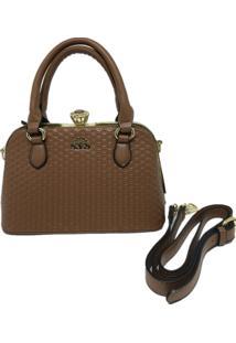 Bolsa Pequena Casual Importada Transversal Sys Fashion 8534 Marrom
