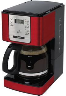 Cafeteira Digital Oster Flavo Programável 36 Xícaras Vermelho - 220V