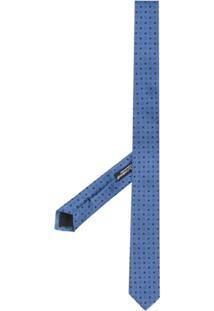Dolce & Gabbana Gravata Blade - Azul