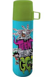Garrafa Térmica De Inox - 350 Ml - Dc Comics - Teen Titans Go! - Urban