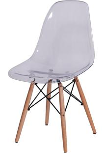 Cadeira Eames Dkr Or-1101 C/ Pés De Madeira – Or Design - Incolor
