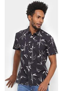 Camisa Colcci Manga Curta Estampada Classic Masculina - Masculino
