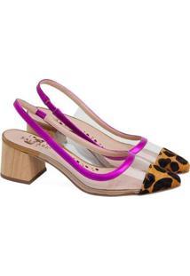 Sapatos Saltare Emily Feminino - Feminino-Pink