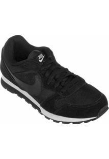 Tênis Nike Md Runner 2 Feminino - Feminino-Preto+Branco
