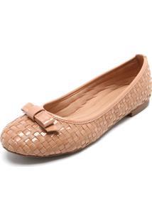 Sapatilha Dafiti Shoes Tressê Nude
