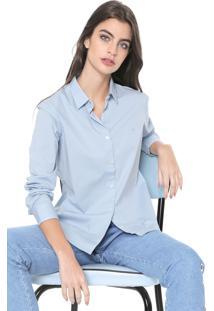 Camisa Ellus Básica Azul