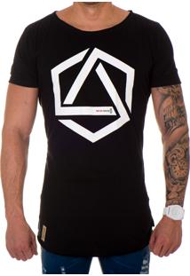 Camiseta Lucas Lunny Oversized Longline Pentágono