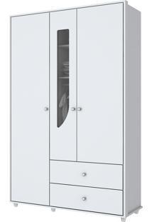 Guarda-Roupa Pão De Mel 3 Portas Branco I109-10 Henn